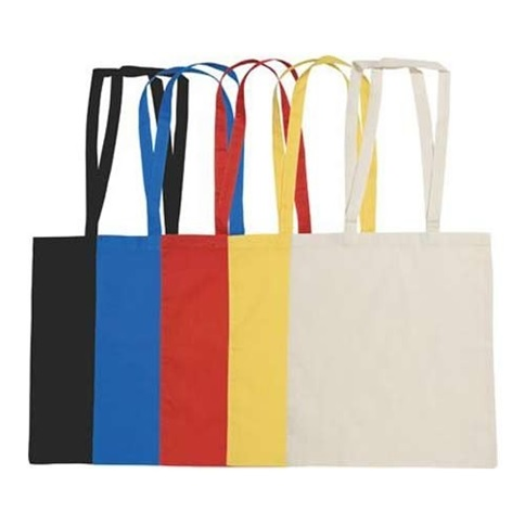 Printed Colored Cotton Bags