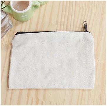 canvas zipper pouch wholesale